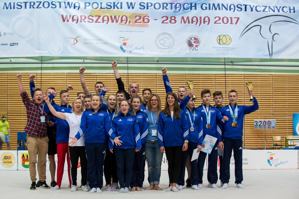 Festiwal Sportów Gimnastycznych - Warszawa - 28.05.17 | fot. Mateusz Słodkowski
